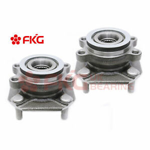 Note: 4-Wheel ABS 4-Wheel ABS Stirling 2012 For Nissan Sentra SE-R Spec V Front Wheel Bearing and Hub Assembly x 2