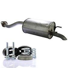 Auspuff Endschalldämpfer Endtopf + Montagesatz Set für Honda Jazz 2 II 1.2 1.3
