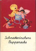 DDR Schnatterinchens Puppenecke + Handspielpuppe