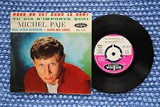 MICHEL PAJE / EP VOGUE EPL. 8125 / BIEM 1963 ( F )