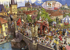 Heye - Gobel & Knorr, Street Parade Puzzle 2000pc