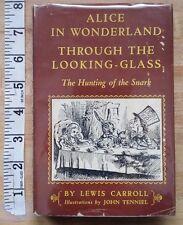 Modern Library Alice in Wonderland Through Looking Glass Snark Lewis Carroll
