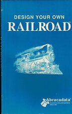 Railroad Design Mode Guide for IBM PC, Railroadiana Trains Tracks,Locomotives