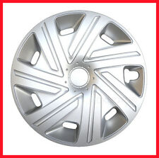 "14"" Wheel trims for Ford KA Fiesta Focus silver full set 4 x 14''"