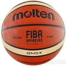 "Molten GM5X FIBA Approved Indoor/Outdoor Basketball Junior Size 5 (27.5"")"
