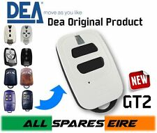 DEA GT2 2 CHANNEL GATE REMOTE CONTROL KEY FOB, ROLLING CODE FREQUENCY 433.92MHZ