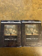 Saving Private Ryan 4K Steelbook Ultra Hd + Blu-Ray + Digital Sealed Fast Ship
