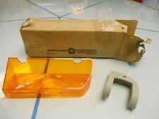1969 Plymouth Fury Left Amber Parking Lite Lens NOS MOPAR PN# 2932803 W/Orig Box