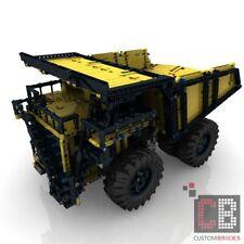 CB Eigenbau Bauanleitung RC Muldenkipper Dump Truck SBrick f LEGO® Technic 42100