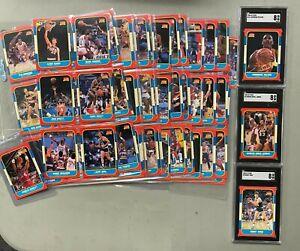 1986 Fleer Basketball Complete Set 131/132 Missing ONLY Michael Jordan RC