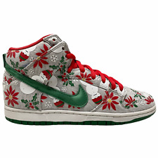 Size 8.5 - 2013 Nike SB Dunk High Concepts Ugly Christmas Sweater VTG 635525 036
