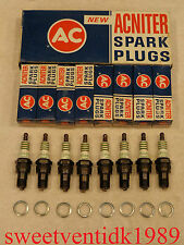 'NOS' AC-CR44N Spark Plugs.......'Acniter Printed'......Commercial Grade