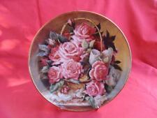 Franklin Mint Princess Grace Foundation Roses Collectors Plate
