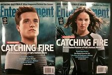 Lot of 2 Entertainment Weekly Hunger Games October 2013 MINT brand NEW