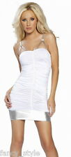 **REDUCED** 2 TONE CLUBWEAR DRESSES One Size Cut out sleeves Metallic Party
