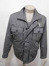 MURANO Men's Water Wind Resistance Zip Jacket Winter Outerwear Coat Grey L $199