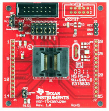 TI MSP430 Target Board: MSP-TS430PW28A, ZIF, Includes two MSP430G2452 IC's
