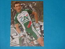 CARTE POSTALE CYCLISTE - J. HIVERT - EQUIPE  CREDIT AGRICOLE- TOUR DE FRANCE