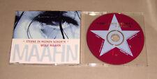 Maxi Single CD Wolf Maahn - Sterne in meinen Schuh´n  3.Tracks  1995 sehr gut