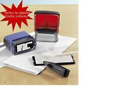 DIY Personalised Business Self inking Rubber Stamp Kit (50mm x 20mm)
