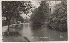 Gloucestershire postcard - Bourton on the Water - RP