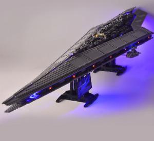 Led Lighting Kit For 10221 Star Wars Super Star Destroyer Compatible 05028 35003