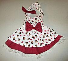 S female Dog dress [Acorns] cotton handmade