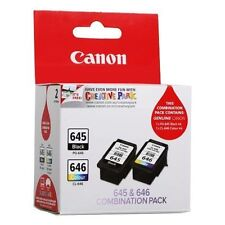 Canon PG-645 & CL-646 Black/Color Ink Cartridge - Twin Pack