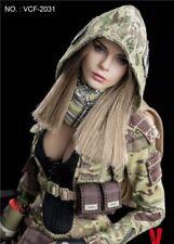 VERYCOOL VCF-2031 MC Camouflage Women Soldier Villa 1/6 Scale Figure