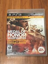 Medal of Honor: Warfighter -- Limited Edition (Sony PlayStation 3, 2012) Complet