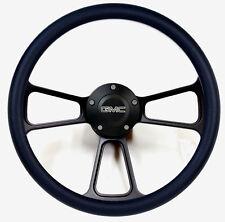 1974-1994  GMC C-Series Pick-Up Truck - Black Billet Steering Wheel - Full Kit
