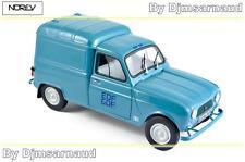 1965 Renault R4 4l Furgoneta Azul Edf-gdf NOREV 185197