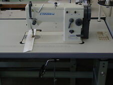 New Consew 2053R-1 NEW COMPLETE with KNOCK DOWN STAND & 3/4HP SERVO MOTOR