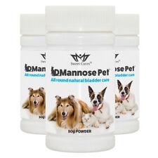 (3 Pack) DMannose Pet | Natural Bladder Health for Pets | 50g Powder