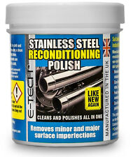 Stainless Steel Reconditioning Restore Polish Wax for Home Appliance & Car Trims