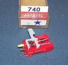 ASTATIC 740 CARTRIDGE NEEDLE for Astatic 133 Euphonics U8-11 PANASONIC EV 149