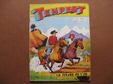 ARTIMA  :  TEMPEST n° 18 (1956)  La fièvre de l'or