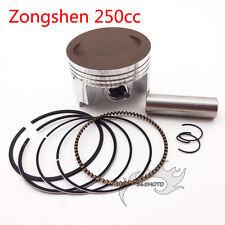 250cc ZongShen CB250 69mm Piston Set 17mm Pin For Dirt Bike ATV Quad Motorcycle