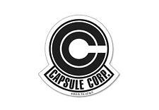 "Dragon Ball Z Capsule Corp. Logo Sticker DBZ 3.5"" Licensed Funimation"