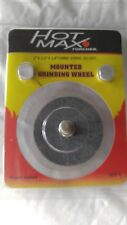 Hot Max 26043 1-Inch by 2-Inch Mounted Grinding Wheel 1/4-Inch Round Shaft New