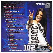 Mr Entertainer MRH102 18 Latest Chart Karaoke Hits CDG Disc Backing Tracks