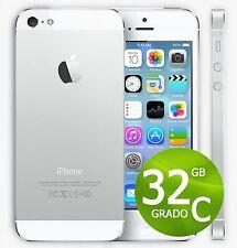 APPLE IPHONE 5 32 GO BLANC + ACCESSOIRES + GARANTIE 12 MOIS - REMIS À NEUF 5G