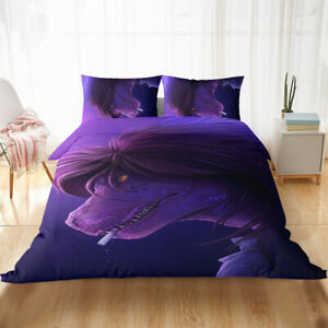 NEW Game Susie Dinosaur Duvet Cover Quilt Cover Flat Sheet Bedspread