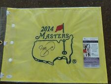 Jason Day- JSA- Signed 2014 MASTERS FLAG- Augusta National- Official Flag- Auto