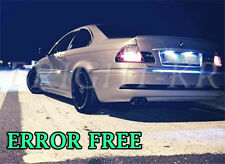 BMW 3 SERIES E36 E46 XENON ICE WHITE LED NUMBER PLATE LIGHT BULBS -ERROR FREE