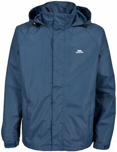 Trespass Mens Nabro II Waterproof Jacket Hooded Weatherproof Rain Coat