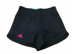 Climalite Adidas Women Size S Blue Tennis Running Shorts with Built In Shorts