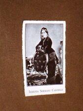 Rara stampa dei primi del 1900 Ismenia Sormani Castelli
