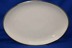 Seltman Johann Cream w/Gold Trim 1550 Serving Platter, 12 5/8""