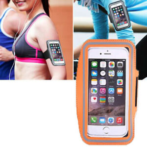 Orange Sport Armband Holder For Samsung Galaxy S4 S5 S6 S8/+/S7/Edge Note3